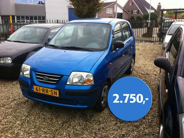 Hyundai Atos Hatchback Benzine Blauw 102789751 Medium